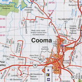 Snowy Mountains Central, Cooma, Khancoban Map