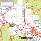 Toolangi - Macedon Map