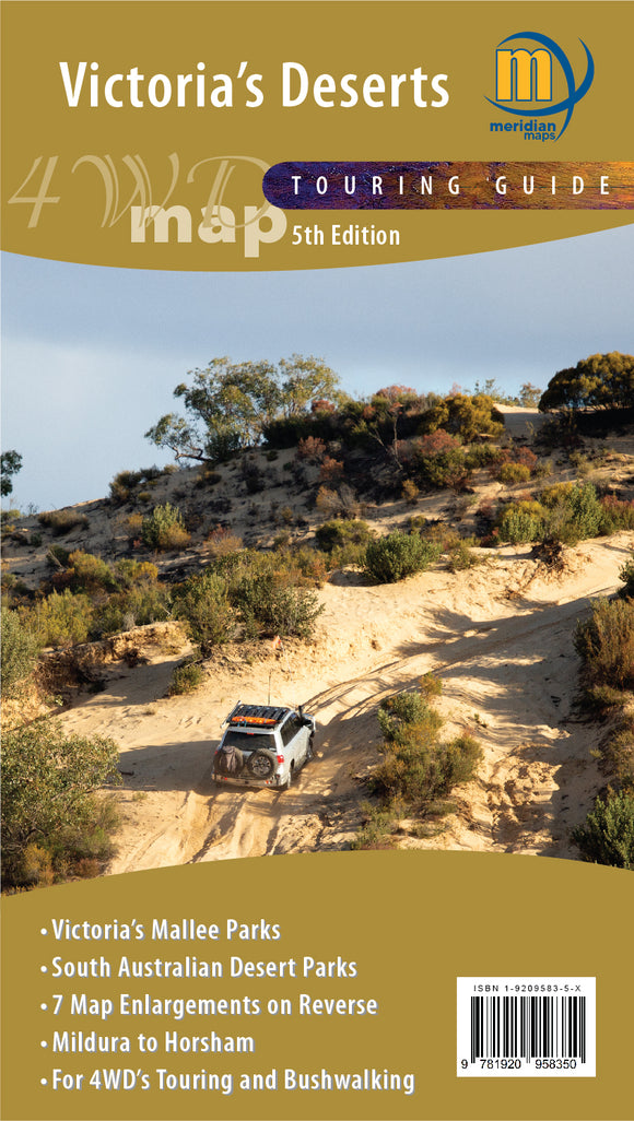 Victoria's Deserts 4WD Map