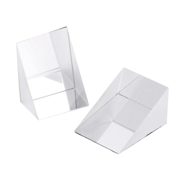 Glass Prism Equilateral/ Right Angle (50 x 50)