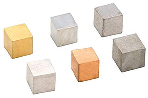 Metal Cubes Set Of Six