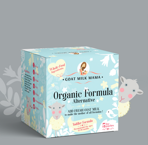 """Small Box"" Organic Goat Milk Formula Alternative, 128 fl oz. (makes 20 bottles)"