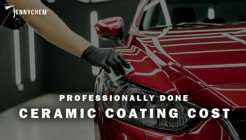 Professionally Done Ceramic Coating Cost for a Car