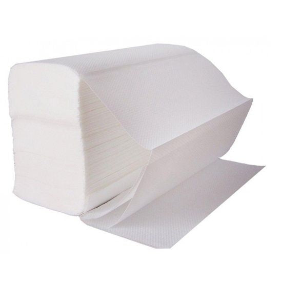 Z FOLD HAND TOWELS - WHITE