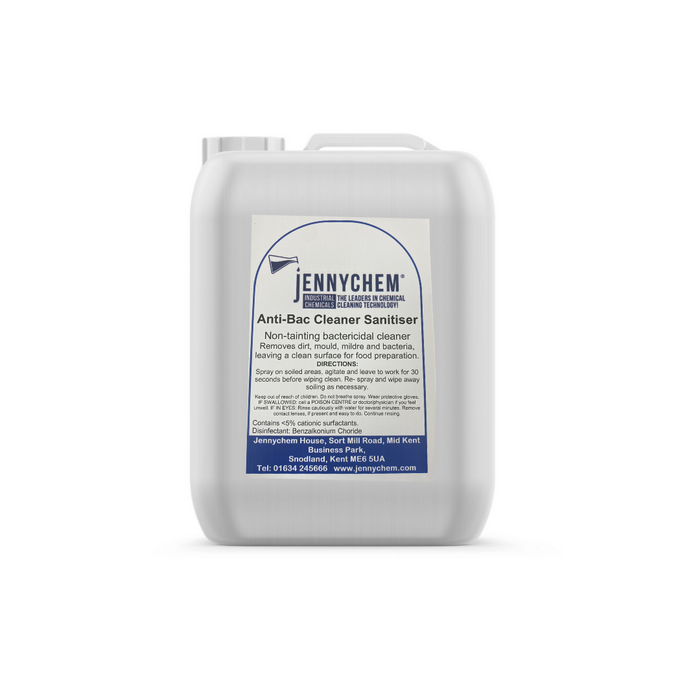 Anti-bacterial/virus cleaner and sanitiser 25L - JENNYCHEM