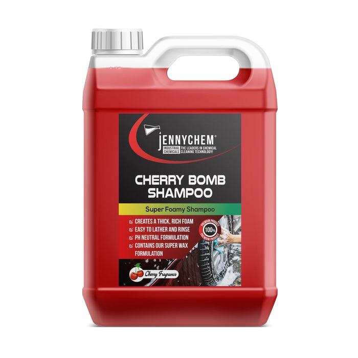 Cherry Bomb Shampoo Super  (Extremely Foamy)