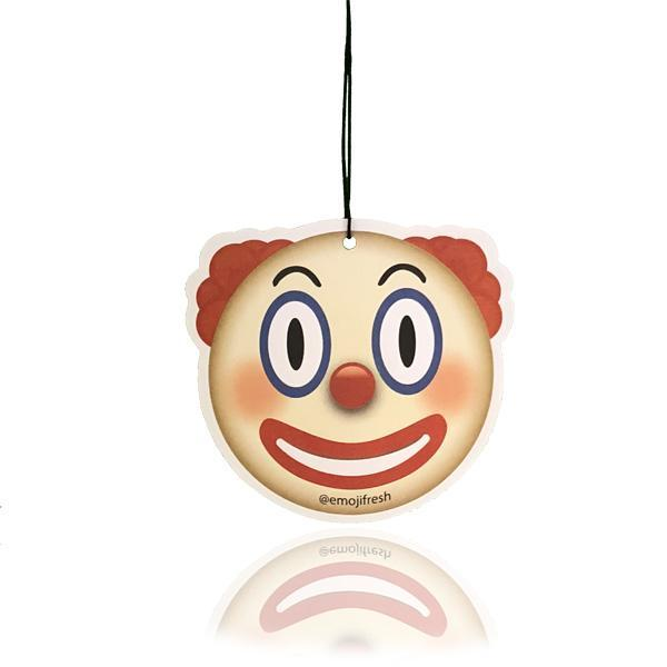 Clown Emoji Car Air Freshener  - JENNYCHEM