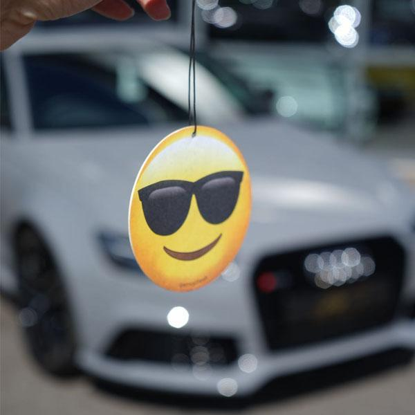 Cool Dude Emoji Car Air Freshener 😎  - JENNYCHEM
