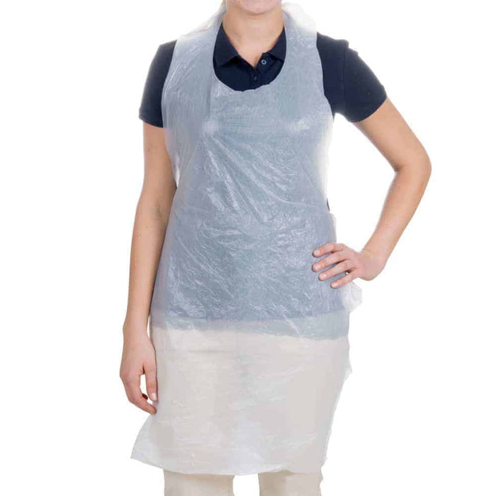 Pack Of 150 Disposable Clear Aprons