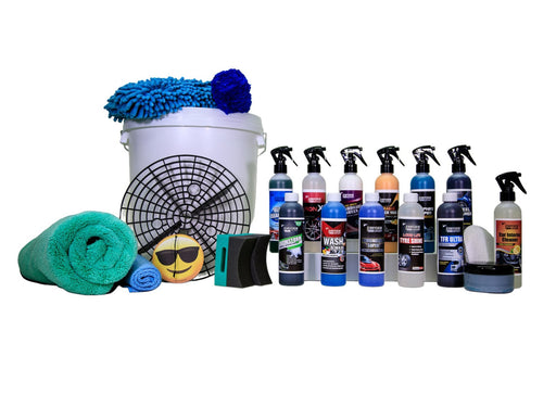 22 Piece Professional Car Care Kit  - JENNYCHEM
