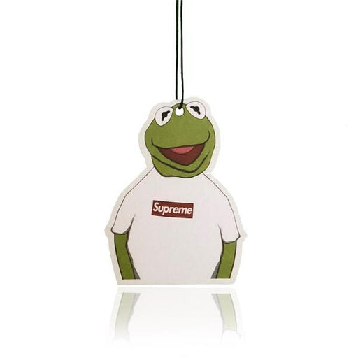 Kermit Supreme Hypebeast Car Air Freshener