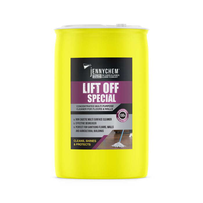 Lift Off Special With Bactericides (Non Caustic) 210LTR - JENNYCHEM