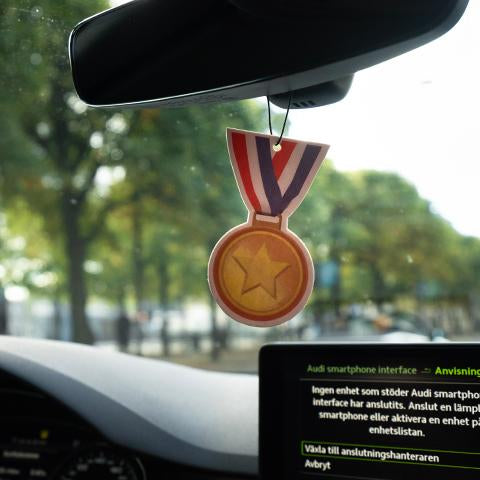 Medal Emoji Car Air Freshener