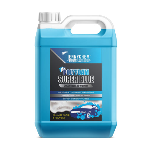 Polyfoam Super Blue (Coloured Snow Foam) 5L - JENNYCHEM