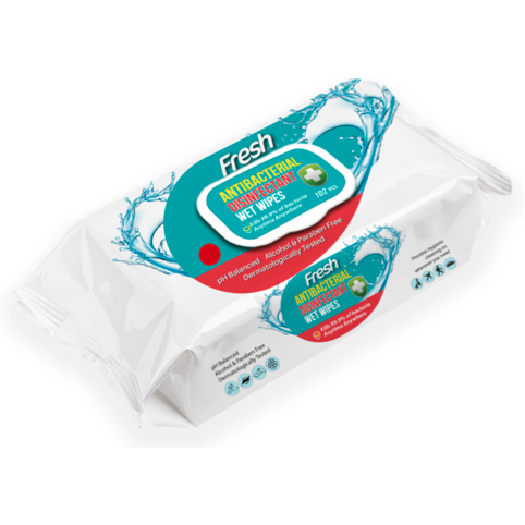 Fresh Antibacterial Wipes 1 - JENNYCHEM