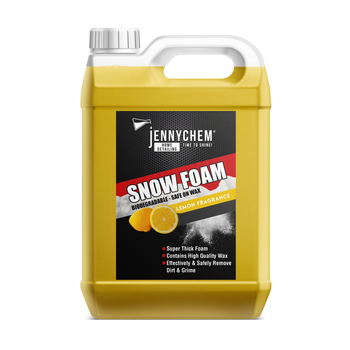 snow foam lemon flavor