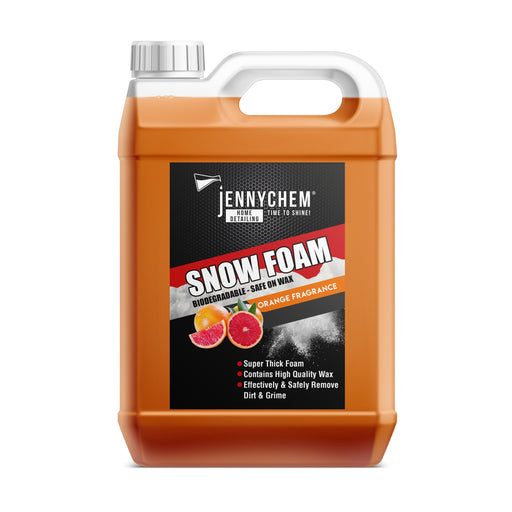 Orange Blizzard Snow Foam 5L / Orange - JENNYCHEM