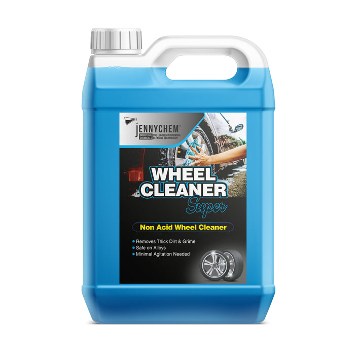 Alkaline Wheel Cleaner Super - Non Acid Wheel Cleaner