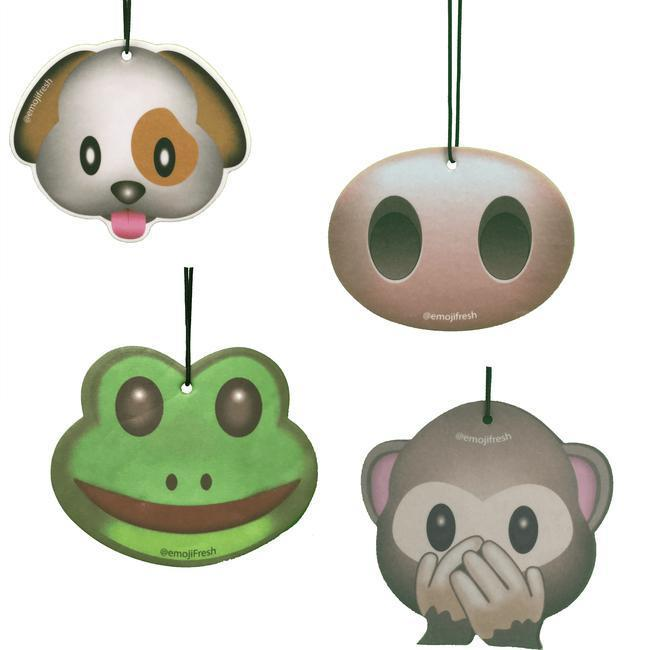 Animal Pack Emoji Car Air Fresheners-EmojiFresh
