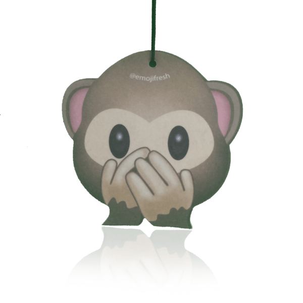 Cheeky Monkey Emoji Car Air Freshener-EmojiFresh