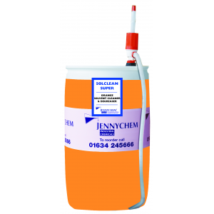 Solclean Super - Orange Solvent Degreaser 210LTR - JENNYCHEM
