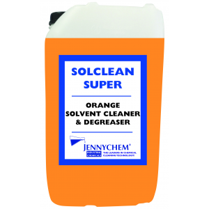 Solclean Super - Orange Solvent Degreaser 25LTR - JENNYCHEM