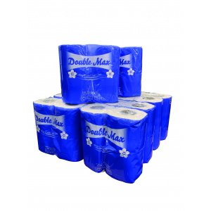 Case of 40 Double Max Toilet Roll  - JENNYCHEM