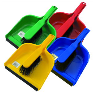 Hygiene Dust Pan and Brush Set  - JENNYCHEM