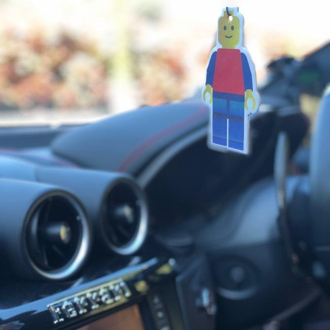 Emoji Man Car Air Freshener  - JENNYCHEM