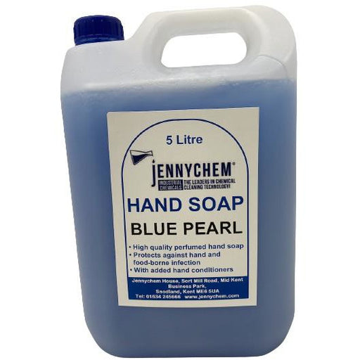Pearlised Hand Soap Moisturiser With Fragrance 5L / Blue Pearl - JENNYCHEM