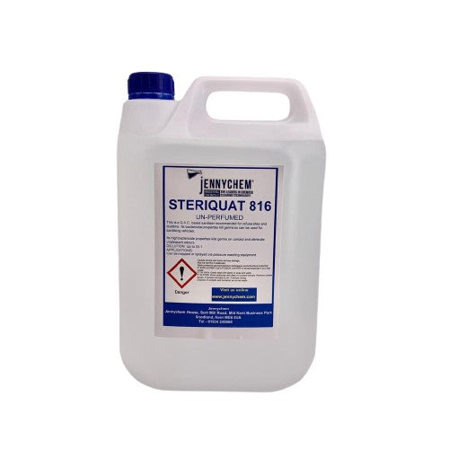 Steriquat Unfragranced Food Safe Sanitiser 5LTR - JENNYCHEM
