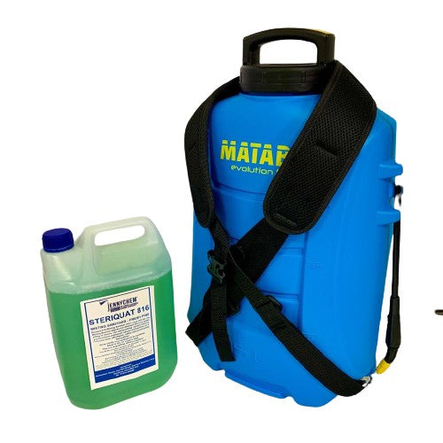 Misting Matabi LTC Battery Operated Spray Knapsack Sanitising Unit  - JENNYCHEM