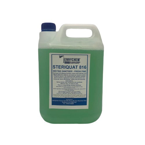 Steriquat 816 Concentrated - Fresh Pine 5LTR - JENNYCHEM