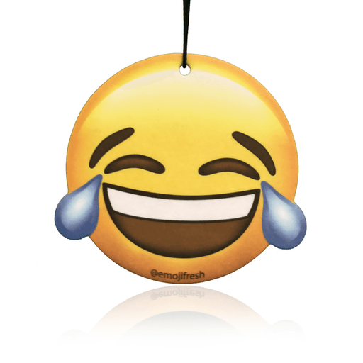 Laughing Face Emoji Car Air Freshener-EmojiFresh