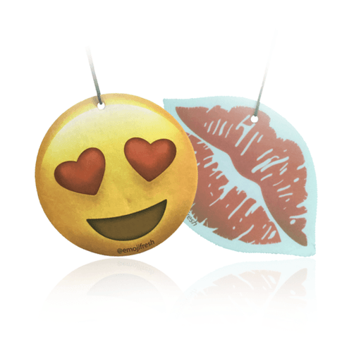 Lovers Pack Emoji Car Air Fresheners-EmojiFresh