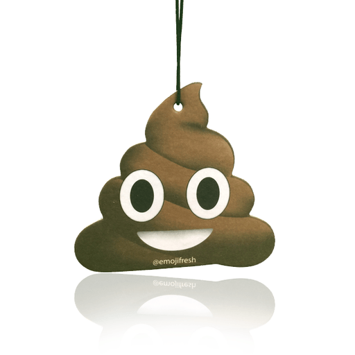 Poop Emoji Car Air Freshener-EmojiFresh