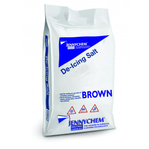 Brown De-icing Salt