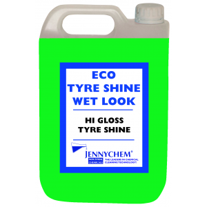 Economy Tyre Shine Super Green - Lasts 2-3 Days 5LTR - JENNYCHEM
