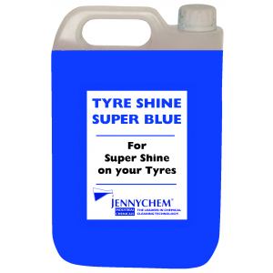 Tyre Shine Super Blue - Lasts 1 Week! 5LTR / BLUE - JENNYCHEM