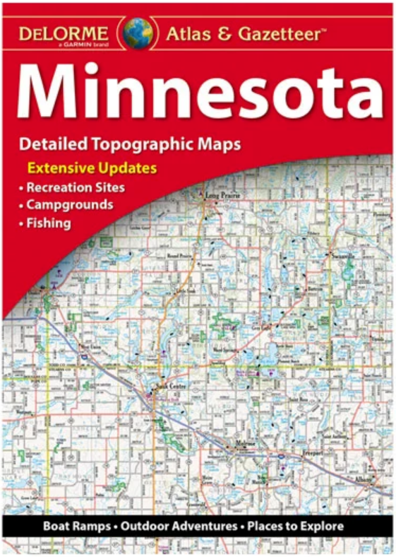 DeLorme Atlas and Gazetteer State Maps