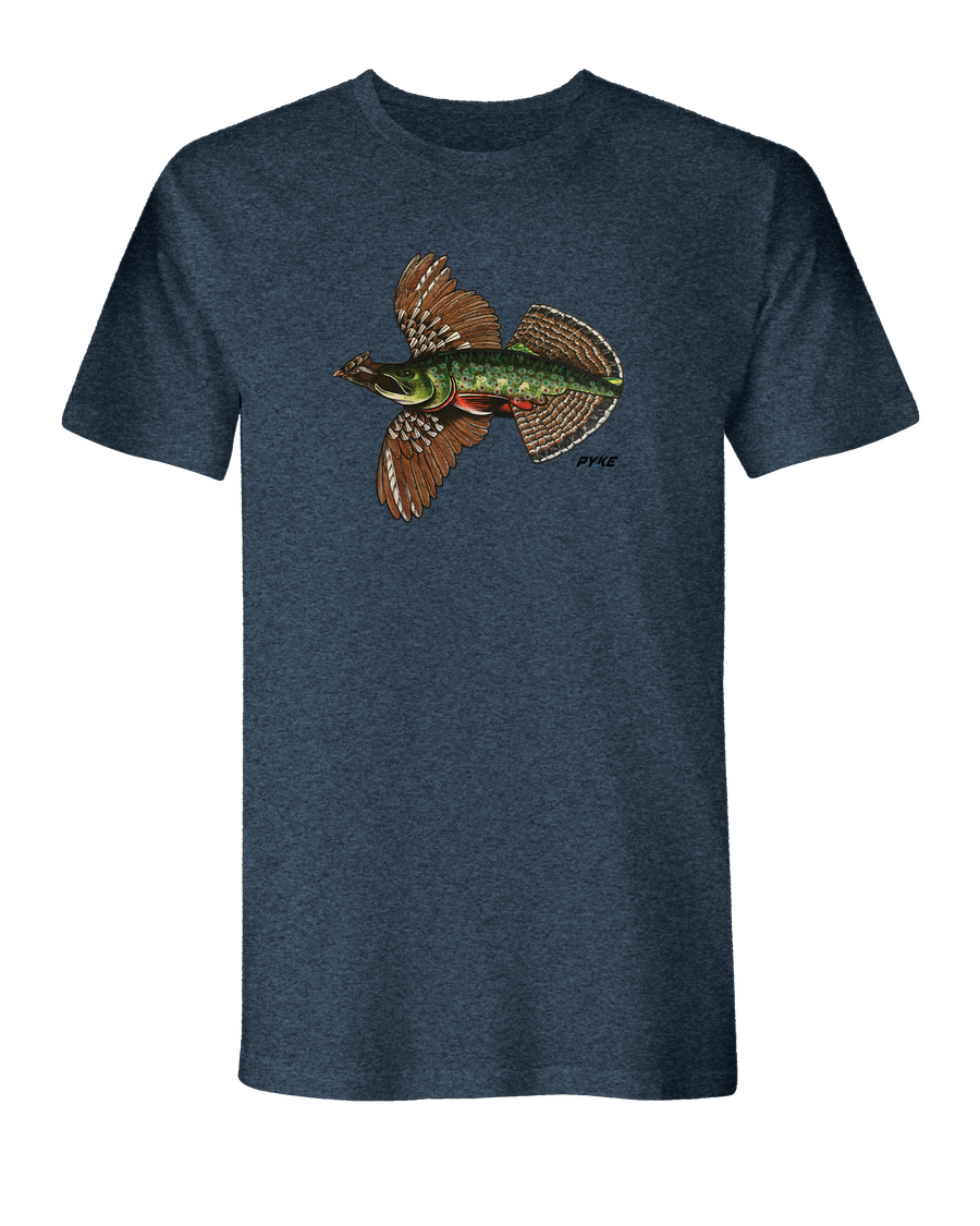 Native Grouse Trout T-Shirt