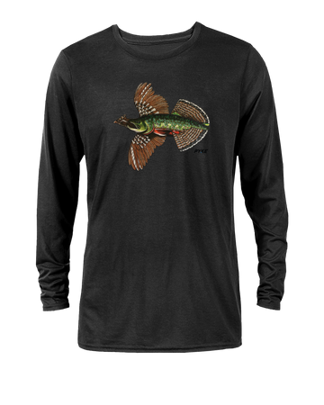 Native Grouse Trout Long Sleeve