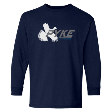 Youth Pyke Grouse Logo Long Sleeve T-Shirt