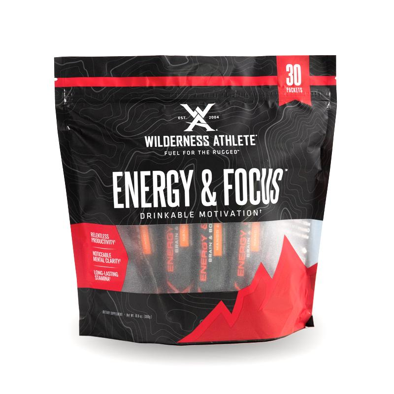 Wilderness Athlete Energy and Focus Packets 30ct