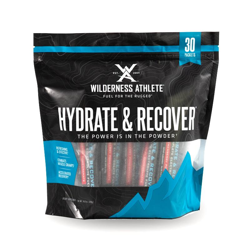 Wilderness Athlete Hydrate and Recover Packets 30ct
