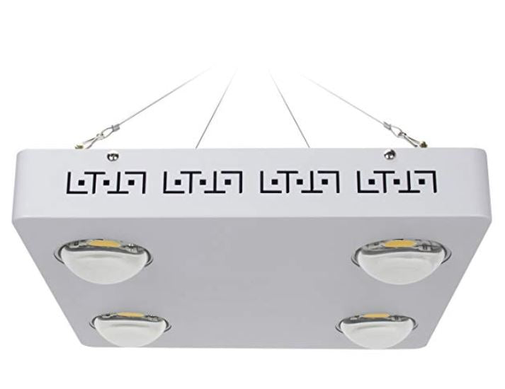 Full spectrum cree cxb3590 high intensity COB LED grow light best hemp cannabis vegetable PAR professional reliable 400 watt 3125 micro moles