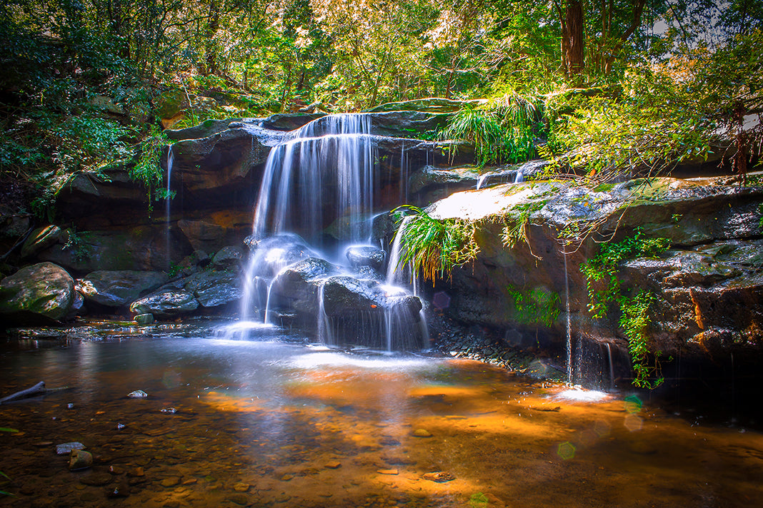 Sydney | Waterfall | Hunts Creek | Blalaka Falls | Wall Art