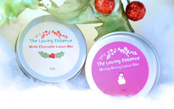 Winter Lotion Bars