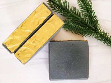 Gold Charcoal Soap