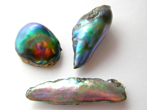 abalone pearls for the card 411
